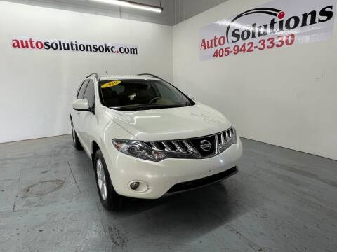 2010 Nissan Murano for sale at Auto Solutions in Warr Acres OK
