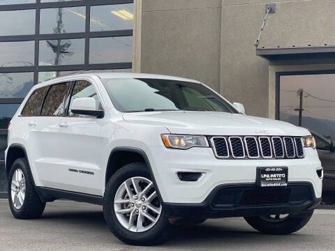 2018 Jeep Grand Cherokee for sale at Unlimited Auto Sales in Salt Lake City UT