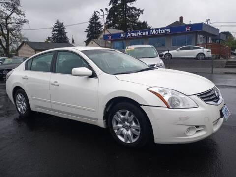 2011 Nissan Altima for sale at All American Motors in Tacoma WA