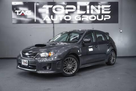 2011 Subaru Impreza for sale at TOPLINE AUTO GROUP in Kent WA