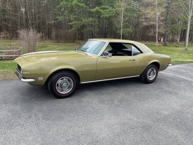 1968 Chevrolet Camaro for sale at Essex Motorsport, LLC in Essex Junction VT