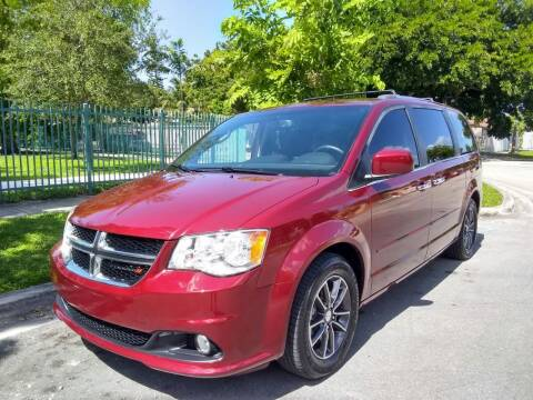 2017 Dodge Grand Caravan for sale at Exotic Auto Brokers in Miami FL