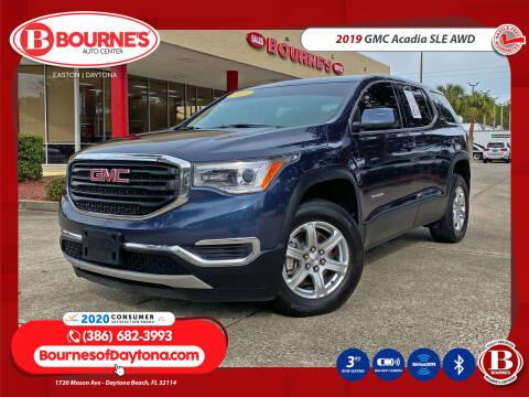 2019 GMC Acadia for sale at Bourne's Auto Center in Daytona Beach FL