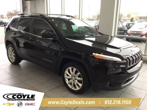 2017 Jeep Cherokee for sale at COYLE GM - COYLE NISSAN - Coyle Nissan in Clarksville IN