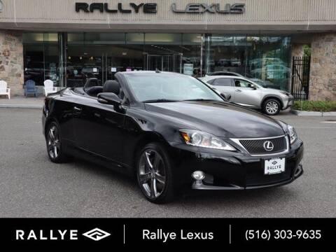 2013 Lexus IS 350C for sale at RALLYE LEXUS in Glen Cove NY