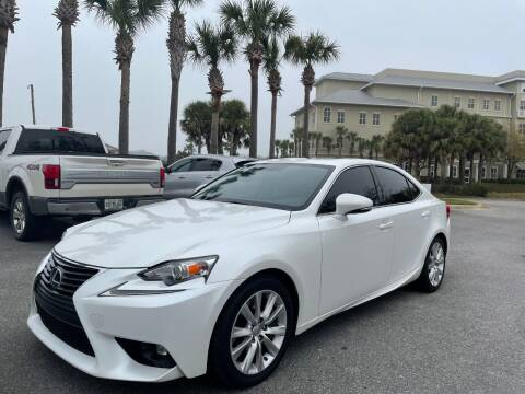 2016 Lexus IS 200t for sale at Gulf Financial Solutions Inc DBA GFS Autos in Panama City Beach FL