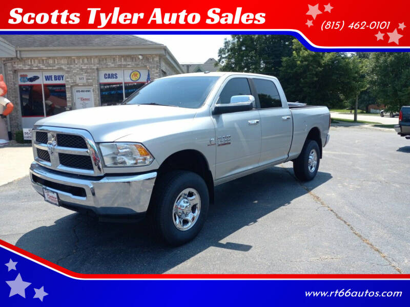 2013 RAM Ram Pickup 2500 for sale at Scotts Tyler Auto Sales in Wilmington IL