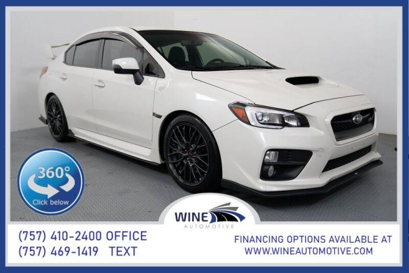 2017 Subaru WRX for sale in Chesapeake, VA