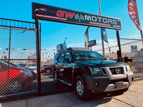 2010 Nissan Xterra for sale at GW MOTORS in Newark NJ