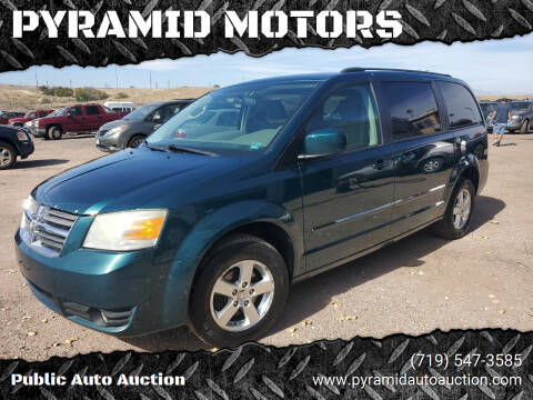 2009 Dodge Grand Caravan for sale at PYRAMID MOTORS - Pueblo Lot in Pueblo CO