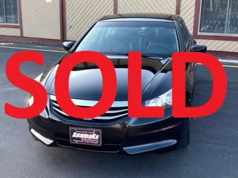 2011 Honda Accord for sale at Anamaks Motors LLC in Hudson NH