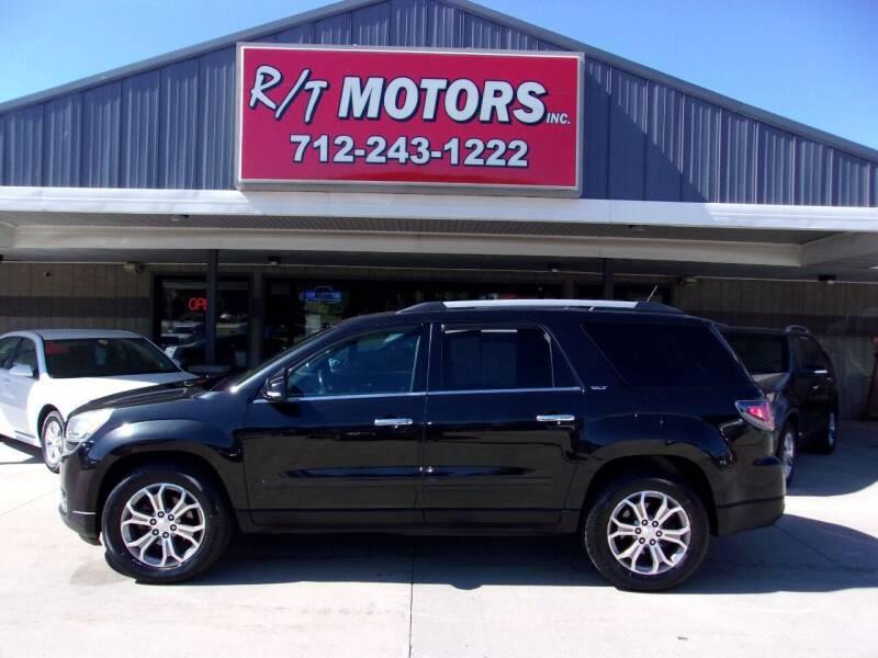 2014 GMC Acadia for sale at RT Motors Inc in Atlantic IA