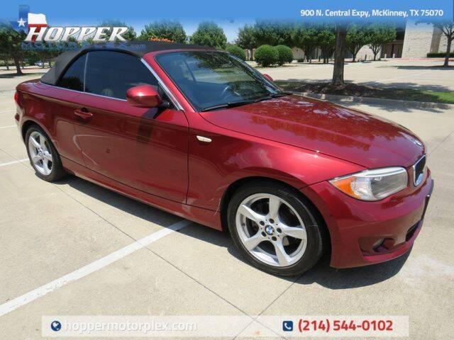 2013 BMW 1 Series for sale in Mckinney, TX