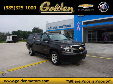 2019 Chevrolet Suburban for sale at GOLDEN MOTORS in Cut Off LA
