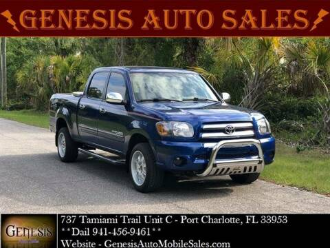 2006 Toyota Tundra for sale at GENESIS AUTO SALES in Port Charlotte FL