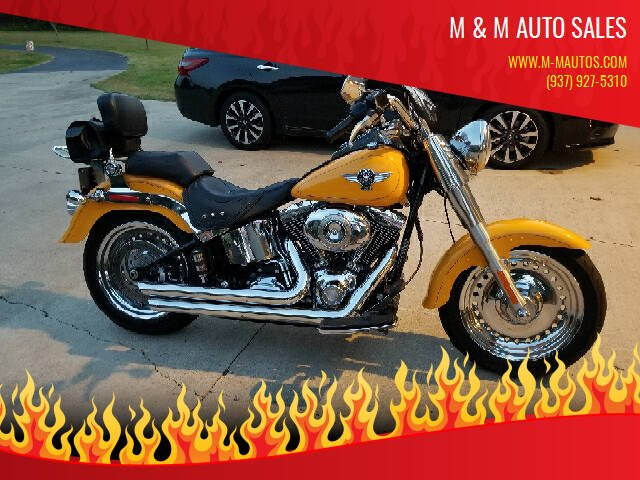 2011 Harley-Davidson FLH for sale at M & M Auto Sales in Hillsboro OH