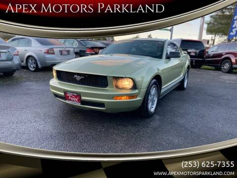 2006 Ford Mustang for sale at Apex Motors Parkland in Tacoma WA