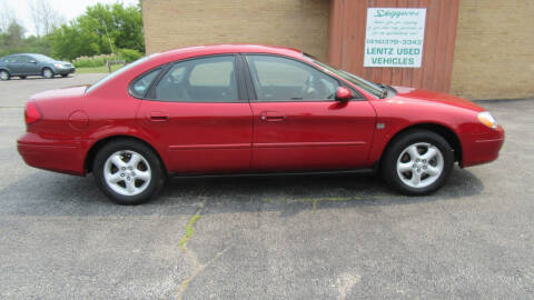 2001 Ford Taurus for sale at LENTZ USED VEHICLES INC in Waldo WI