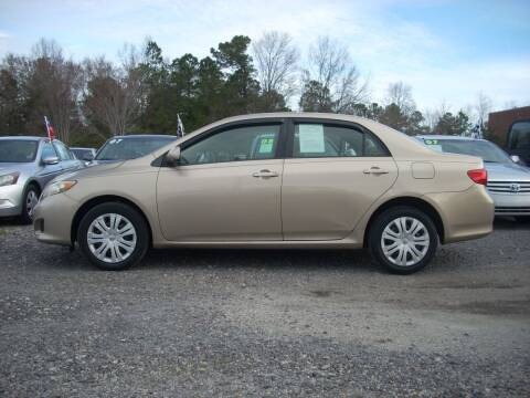 2010 Toyota Corolla for sale at Car Check Auto Sales in Conway SC