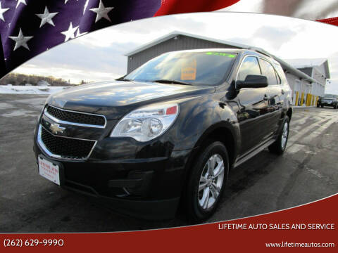 2015 Chevrolet Equinox for sale at Lifetime Auto Sales and Service in West Bend WI