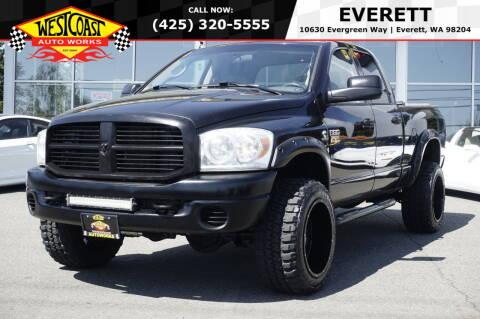 2008 Dodge Ram Pickup 3500 for sale at West Coast Auto Works in Edmonds WA