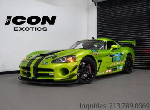 2006 Dodge Viper for sale at Icon Exotics in Houston TX