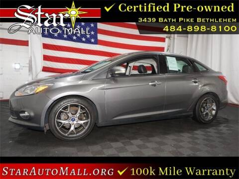 2014 Ford Focus for sale at STAR AUTO MALL 512 in Bethlehem PA