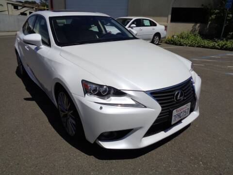 2014 Lexus IS 250 for sale at NorCal Auto Mart in Vacaville CA