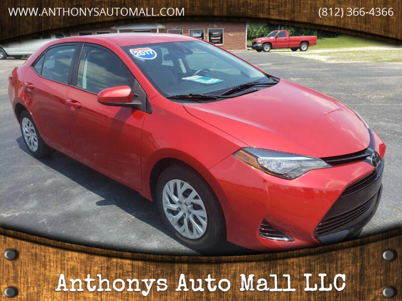 2017 Toyota Corolla for sale at Anthonys Auto Mall LLC in New Salisbury IN