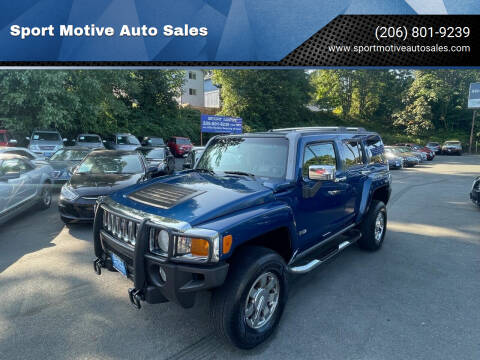 2006 HUMMER H3 for sale at Sport Motive Auto Sales in Seattle WA