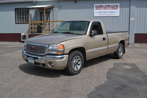 2005 GMC Sierra 1500 for sale at Dave's Auto Sales in Winthrop MN
