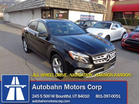 2019 Mercedes-Benz GLA for sale at Autobahn Motors Corp in Bountiful UT