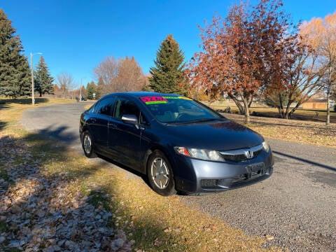 2009 Honda Civic for sale at BELOW BOOK AUTO SALES in Idaho Falls ID
