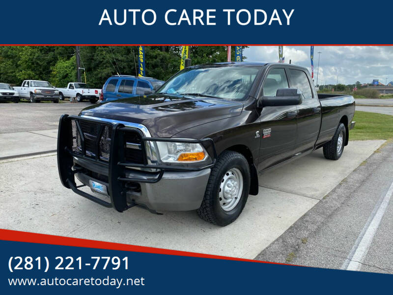2010 Dodge Ram Pickup 2500 for sale at AUTO CARE TODAY in Spring TX