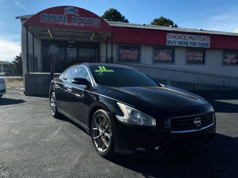 2011 Nissan Maxima for sale at Choice Motors of Salt Lake City in West Valley  City UT
