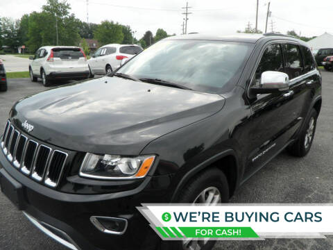 2015 Jeep Grand Cherokee for sale at CARSON MOTORS in Cloverdale IN
