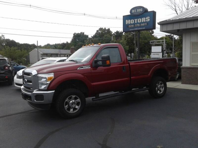 2015 Ford F-250 Super Duty for sale at Route 106 Motors in East Bridgewater MA