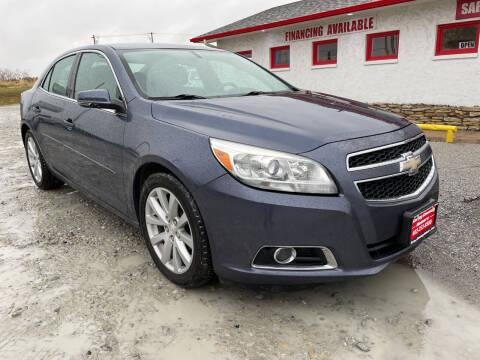 2013 Chevrolet Malibu for sale at Sarpy County Motors in Springfield NE