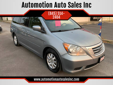2010 Honda Odyssey for sale at Automotion Auto Sales Inc in Kingston NY