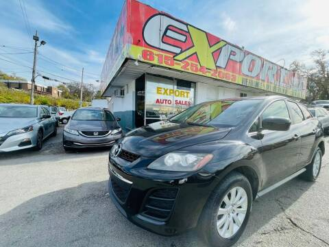 2011 Mazda CX-7 for sale at EXPORT AUTO SALES, INC. in Nashville TN