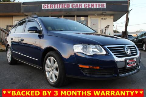 2007 Volkswagen Passat for sale at CERTIFIED CAR CENTER in Fairfax VA