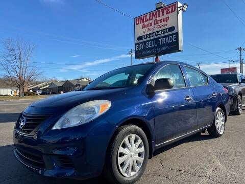 2014 Nissan Versa for sale at Unlimited Auto Group in West Chester OH