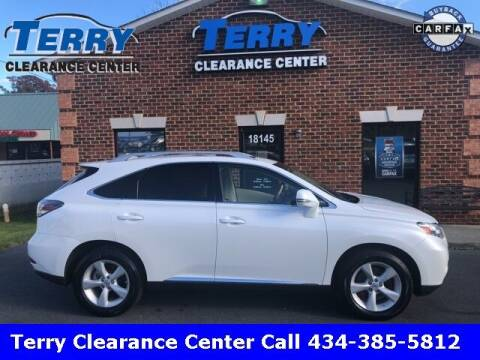 2012 Lexus RX 350 for sale at Terry Clearance Center in Lynchburg VA