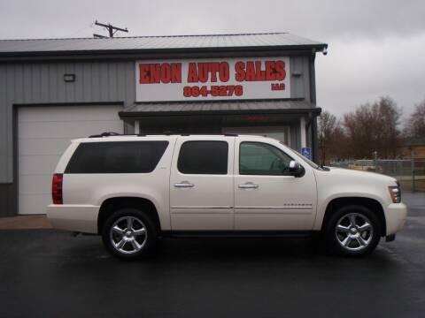 2014 Chevrolet Suburban for sale at ENON AUTO SALES in Enon OH