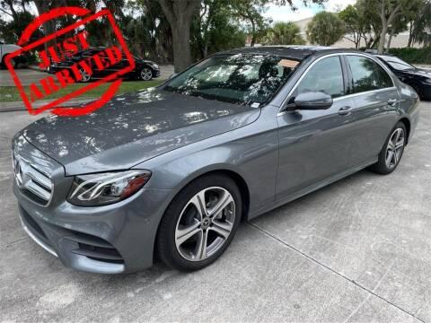 2018 Mercedes-Benz E-Class for sale at Florida Fine Cars - West Palm Beach in West Palm Beach FL