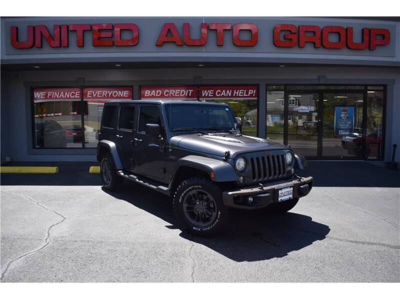 2017 Jeep Wrangler Unlimited for sale at United Auto Group in Putnam CT