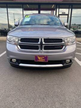 2013 Dodge Durango for sale at Greenville Motor Company in Greenville NC