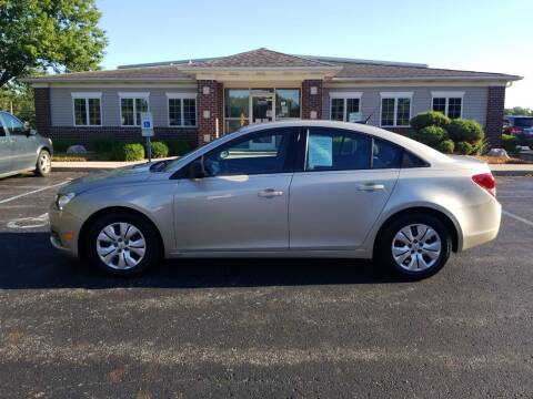 2013 Chevrolet Cruze for sale at Pierce Automotive, Inc. in Antwerp OH