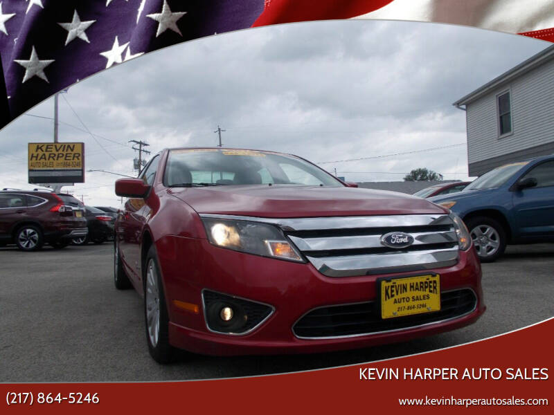 2012 Ford Fusion Hybrid for sale at Kevin Harper Auto Sales in Mount Zion IL