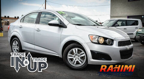 2015 Chevrolet Sonic for sale at Rahimi Automotive Group in Yuma AZ